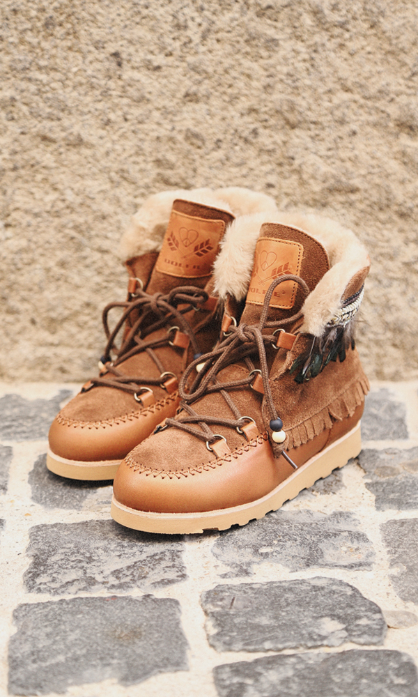 new style 383ed 2acdc dolfie-paradise-indiana-brown-feathers - Loving Team Shop